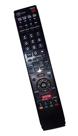 Replaced Remote Control Compatible for Sharp LC70LE745U LC-7