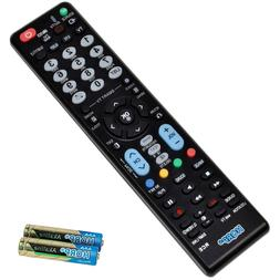 Replacement Remote Control for LG LCD LED HD 1080p 3D Ultra