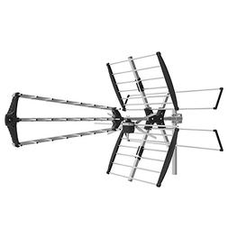 1byone Digital Outdoor/Roof HDTV Antenna, High Gain VHF/UHF