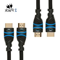 ARCO High Speed HDMI Cable with Ethernet 10 Feet - Supports