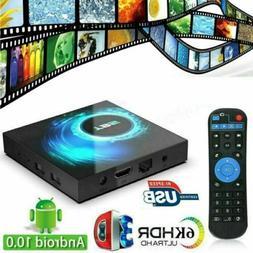T95 4K Android 10 CORE 4GB+128GB TV BOX 2.4/5G WIFI HDMI 3D