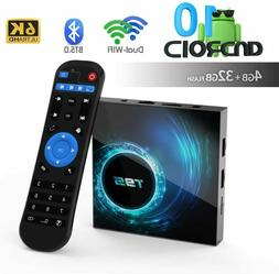 T95 4K Android 10 CORE 4GB+32GB TV BOX 2.4/5G WIFI HDMI 3D