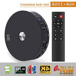 TV Box - SCS ETC R10 4GB RAM 32GB ROM Android 7.1 TV Box wit