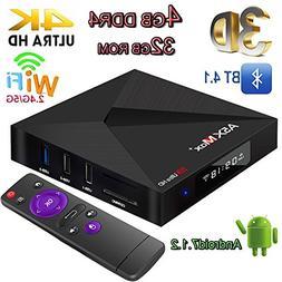 TV Box, 4GB+32GB Super-VIP A5X Max Plus Smart 4K TV Box Andr