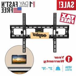 TV Wall Mount Bracket Tilt For 32 37 42 45 50 55 60 65 70 In