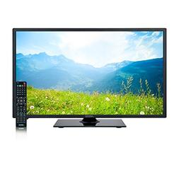 AXESS TV1705-24 24-Inch LED Full 1080p HDTV, Features 1xHDMI