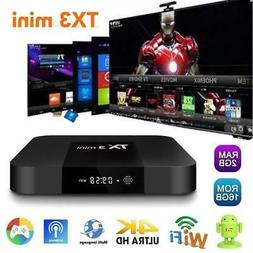 TX3 mini 2GB+16GB S905W Quad Core Android 7.1 TV BOX 2.4GHz