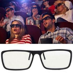 Clip-On Type Circular Passive Polarized 3D Glasses For TV Re