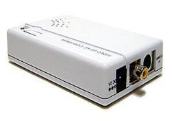 Ultra Composite Video S-Video to VGA Converter Scaler