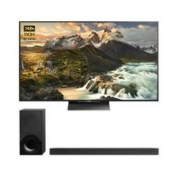 Sony 65-inch 4K Ultra HD LED TV  with Sony 3.1ch Soundbar wi