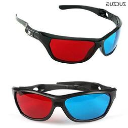 Universal 3D Plastic glasses/Oculos/Red Blue Cyan 3D glass
