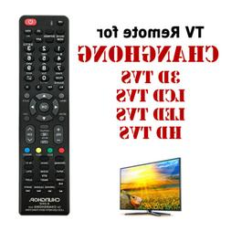 Universal TV Remote For Changhong 3D LCD LED & HD TVs Replac