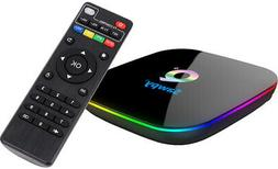 US Android Smart TV Box 4GB 32GB Quad-core 3D 6K Ultra HD TV