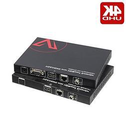 AV Access VGA HDMI Extender  with auto-switch, 4K60Hz over C