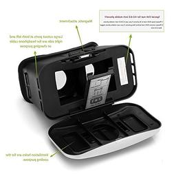 Virtual Reality Headset, EFFUN VR Headset and 3D Video Glass