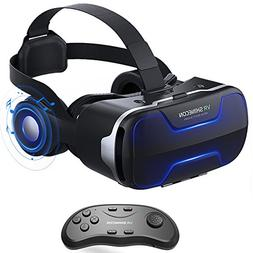 VR Headset, Cobra Tech 3D VR Virtual Reality Headset with Re