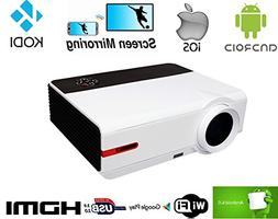 FR WiFi projector FULL HD 1080P Home Theater 5000 lumen proj