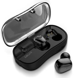 Wireless Earbuds, Syllable Bluetooth Headphones V5.0 Noise I