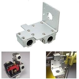 X-axis Long / Short Distance Printhead Aluminum Mounting Bas