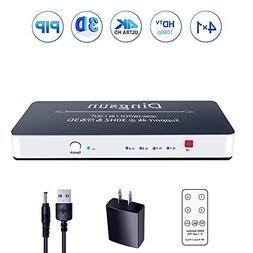 HDMI Switch, 4 Port HDMI Switch with Remote, HDMI Port, HDMI