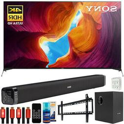 "Sony X950H 65"" 4K Ultra HD LED Smart TV  Deco Soundbar & Sub"