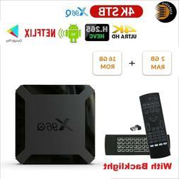 2020 Android 10.0 WiFi Slim Smart TV X96Q Box Quad Core 4K 3