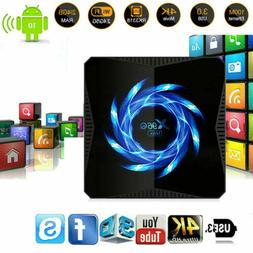 X96Q Max 4K Android 10 Core 4GB+64GB TV BOX 2.4/5G WIFI HDMI