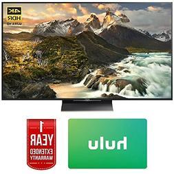 Sony XBR-65Z9D 65-inch 4K Ultra HD LED TV w/Hulu $100 Gift C