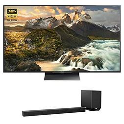 Sony XBR-75Z9D 75-Inch Class 4K Ultra HD TV w HT-ST5000 7.1.
