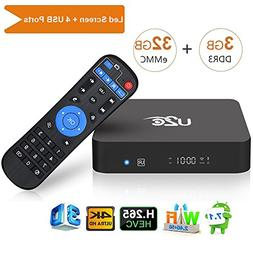 U2C Android 7.1 TV Box,  Amlogic S912 Octa Core Smart TV Box